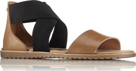 Ella Sandal Camel Quarks Shoes